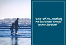 comforting quote about losing a child